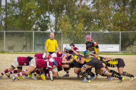 salento-rugby-granata-mischia