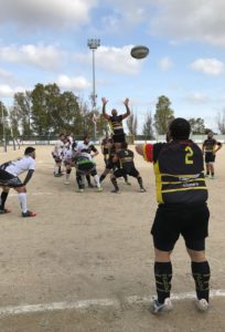 Salento Rugby - Panthers touche