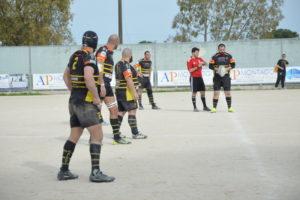 Salento Rugby - Potenza calcio d'inizio