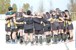 Salento Rugby - Potenza cerchio prepartita