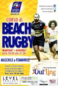 Corso di Beach Rugby Salento Rugby