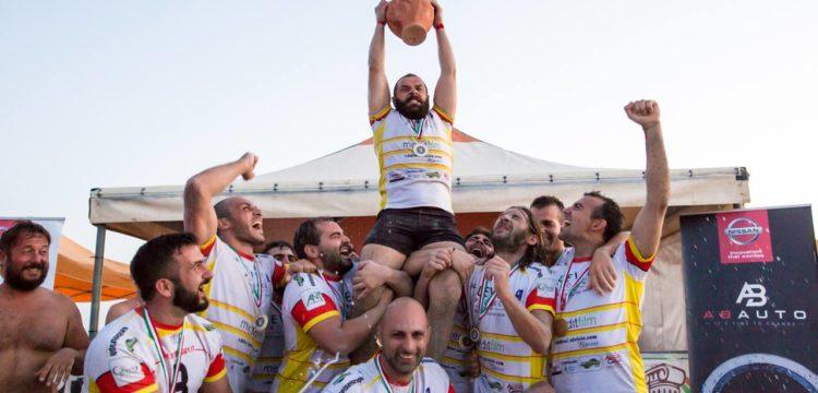 Magna Grecia Beach Rugby Cup - La vittoria nel Magna Grecia Beach Rugby Cup