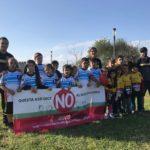 Il Salento Rugby a Lecce per promuovere il gioco con la palla ovale tra i ragazzi